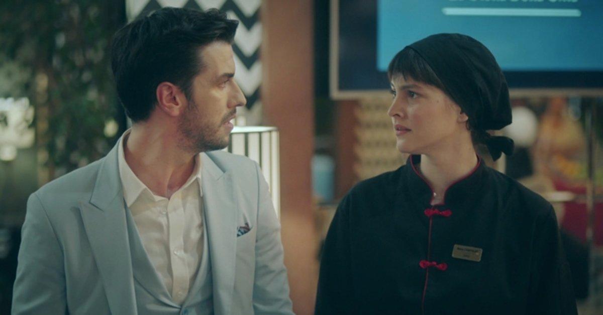 Aras Aydın as Alp Karahun and Leyla Feray as Neva Canpolat