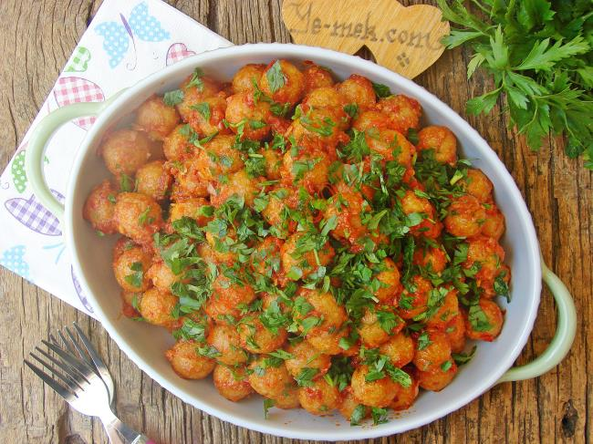 It is almost impossible to talk about Adana cuisine without mentioning garlic meatballs