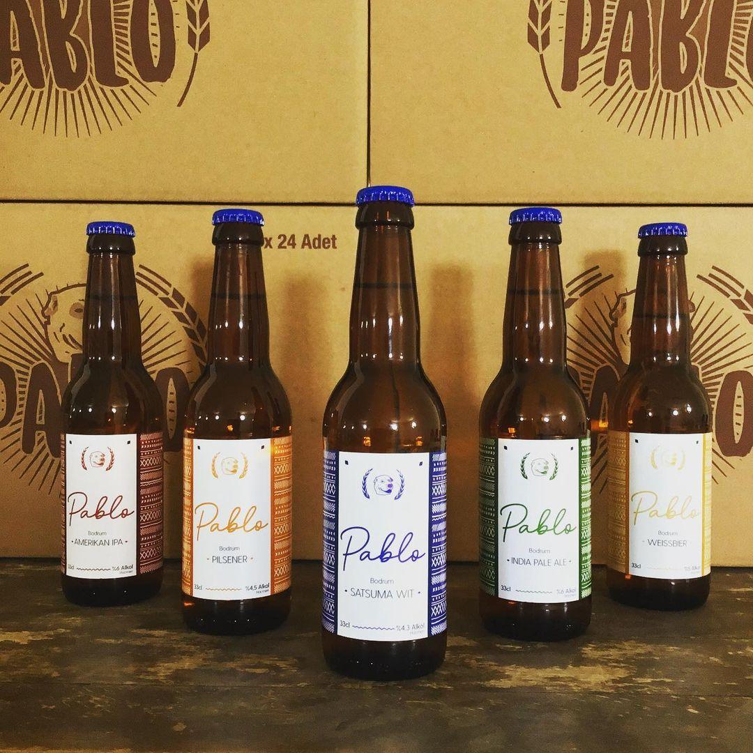 One of the best Turkish beers, Pablo Beer