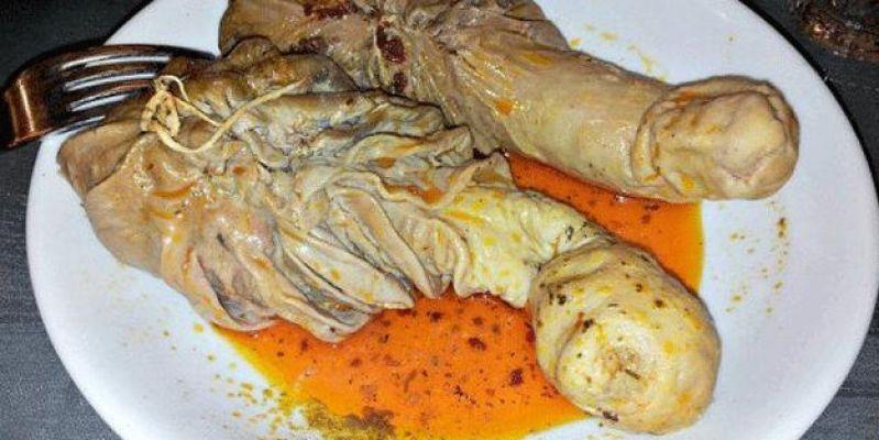 People use part of the stomachs of ruminant animals to make Şırdan Dolması