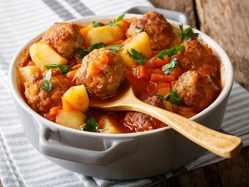 Persian meatballs are a special dish of Van cuisine