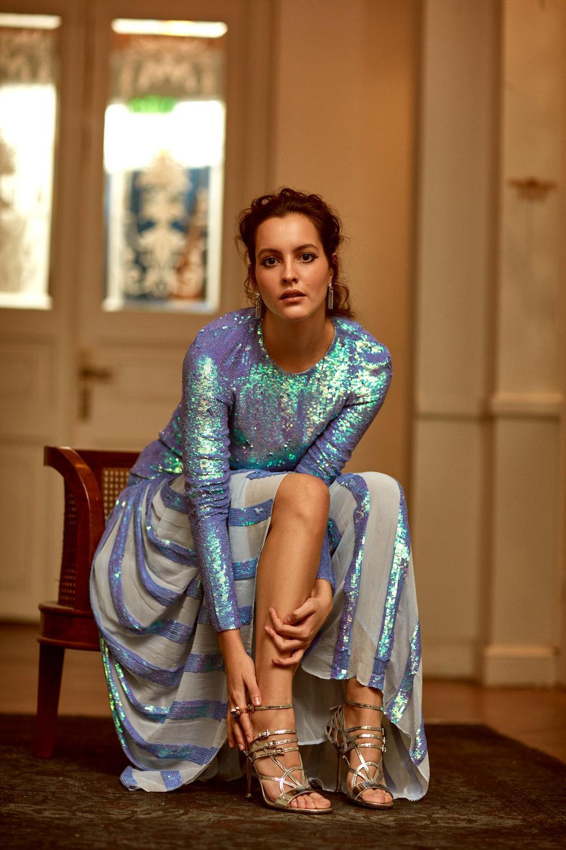 The promising Turkish actress is a graduate of Koç UniversitySchool of Media and Fine Arts