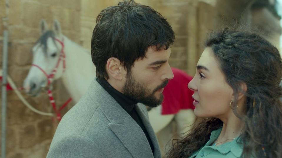 Ebru Sahin and Akın Akinozu had made a great couple in Hercai Turkish TV drama