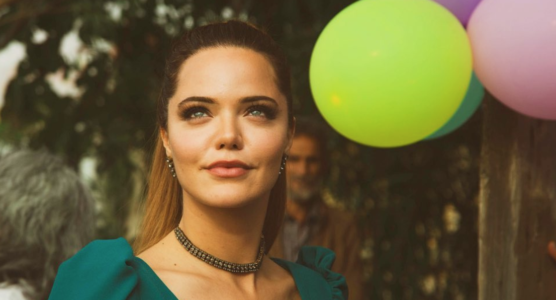 Hilal Altınbilek is Turkey's one of the most attractive stars