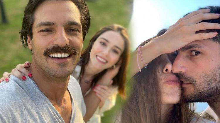 Ozge Gurel and her colleague Serkan Cayoglu have been in a relationship since Kiraz Mevsimi (Cherry Season)
