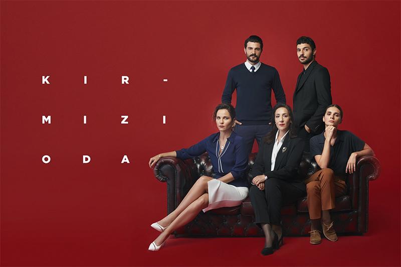 The actor's star shone with the latest TV series Kırmızı Oda (literally The Red Room)