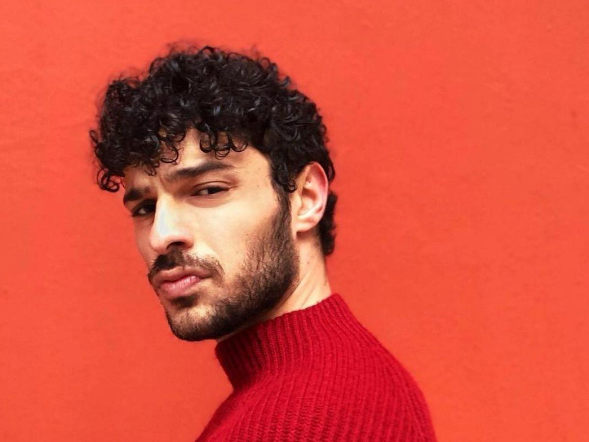 The young Turkish actor Halit Ozgur Sari