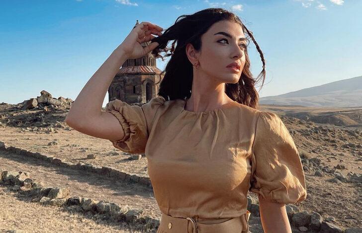 Turkish actress Aslıhan Güner is starring as Umay in Uzak Şehrin Masalı (The Tale of the Far City)